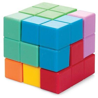 3d Puzzle Cubo - 20631 Colorata Ttetris De Lo Stress Divertente Puzzle Giocattolo Per Bambini Dd-mostra Il Titolo Originale