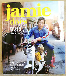 # 1 TASTE MINI COOK BOOK - JAMIE does SPAIN ITALY FRANCE GREECE MOROCCO SWEDEN