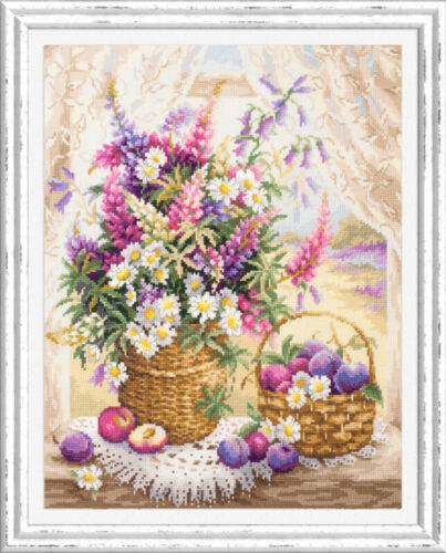 Summer flavor Counted Cross Stitch Kit MAGIC NEEDLE
