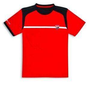 DUCATI-CORSE-POWER-T-Shirt-kurzarm-rot-NEU-2019