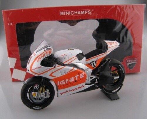 Ducati desmosedici gp13 motogp 2013 ben spies Minichamps 1 12 nuevo embalaje original