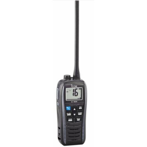 Icom IC-M25 EURO Handheld Marine VHF - Buoyant - Marine Grey