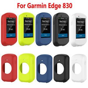 Para-Garmin-Edge-830-GPS-Ciclocomputadores-Estuche-Funda-Protectora-de-Silicona