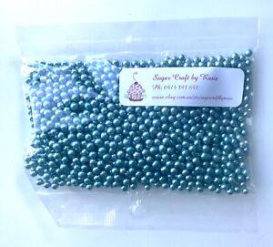 Blue-Edible-Sugar-Pearls-Cachous-Balls-4mm-100-Gram-Pack-Sprinkles