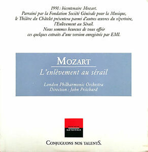 Mozart-CD-L-039-Enlevement-Au-Serail-Promo-France-EX-EX
