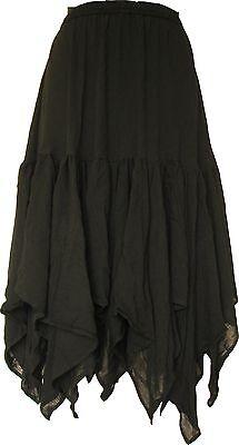 Women Pirate Renaissance Casual Skirt Medieval Caribbean Costume Daily Wear