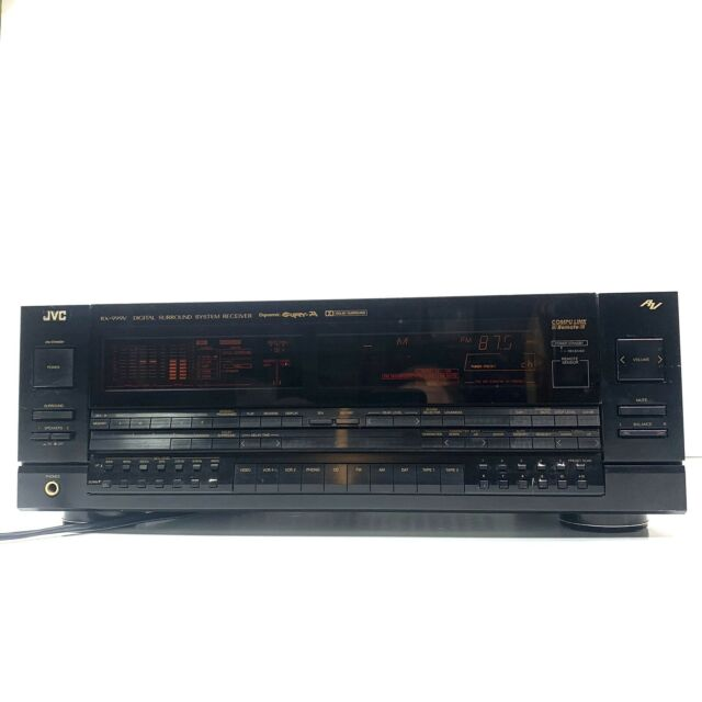 Rare Vintage JVC RX-999V Monster Stereo Receiver 100 WPC Tested - No Remote