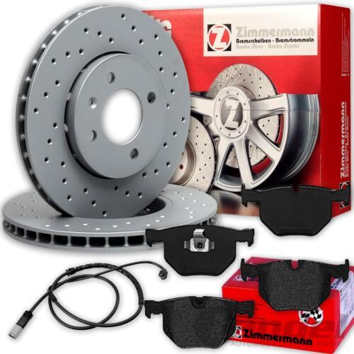 x5 f15 x6 f16 garnitures arrière bmw x5 e70 x6 e71 Zimmermann Sport-Disques de frein