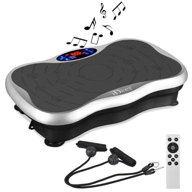 Vibration Plate Crazy  Fit Body Shaker Massage Fitness Machine Oscillating Power
