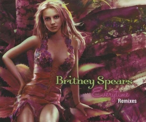 Britney Spears Everytime Remixes CD Single Very Rare 2004 From Album In The Zone