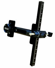 New Cartel Archery Recurve Bow Site Sight Midas Junior II Black Metal