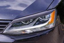 VW JETTA 2011 - 2017 Eyelids eyebrows headlight Spoiler light brows MK6 GLi TDi