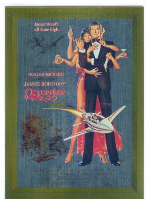 James Bond Connoisseurs Collection Volume 3 Metalworks Poster Chase Card P15
