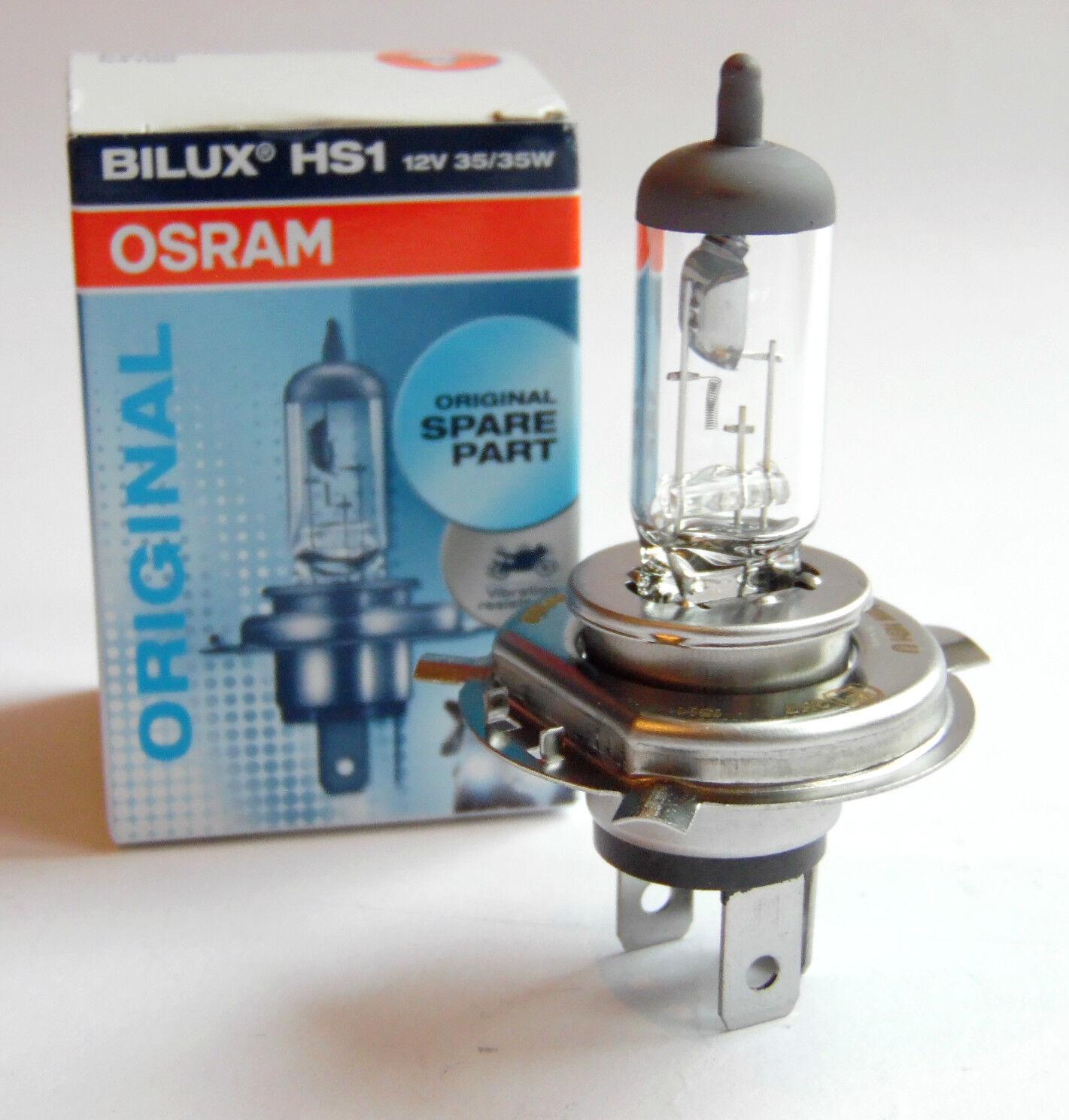 1x hs1 12v 35w px43t OSRAM moto Racer lámpara Night Xenon Roller halógeno 64185