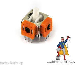 2-x-GameCube-3D-Analog-Stick-Joystick-NGC-Controller-Steuer-Modul-Thumbstick-Neu