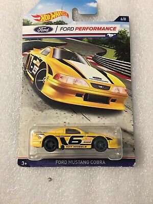 Ford Performance #6 MUSTANG COBRA☆yellow;gray oh5☆2016 Hot Wheels Walmart Excl