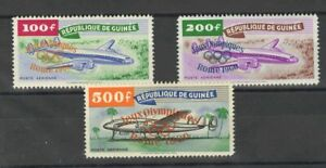 Republic Of Guinea, Aéreo. MNH Yv 11/13. 1960. Series Full (The 100 Fr And