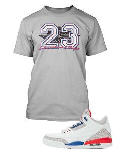 b395d08620d T Shirt to Match Air Jordan 3 International Flight Shoe Big and Tall ...