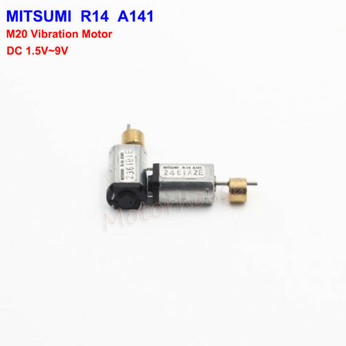 MITSUMI DC 3V 5V 6V 8mm*10mm M20 Micro Vibrating Vibration Motor DIY Toy Parts