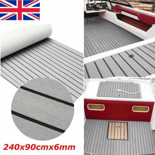 EVA Self Adhesive Foam Faux Teak Sheet Boat Marine Yacht Floor Decking Mat
