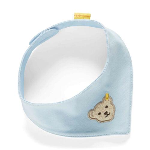 Steiff ® jeunes Jersey foulard triangle bleu clair Ours l000020213 basic neuf!