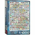 Eurographics Flags of the World 1000 Piece Jigsaw Puzzle