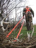 Heavy Hauler Deer Drag Harness Big Game Deer Antelope Blaze Orange Drag