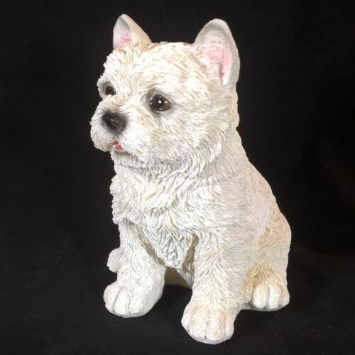 Gartenfigur Hund Westi West Highland Welpe 11207 Garten West Highland Deko Figur