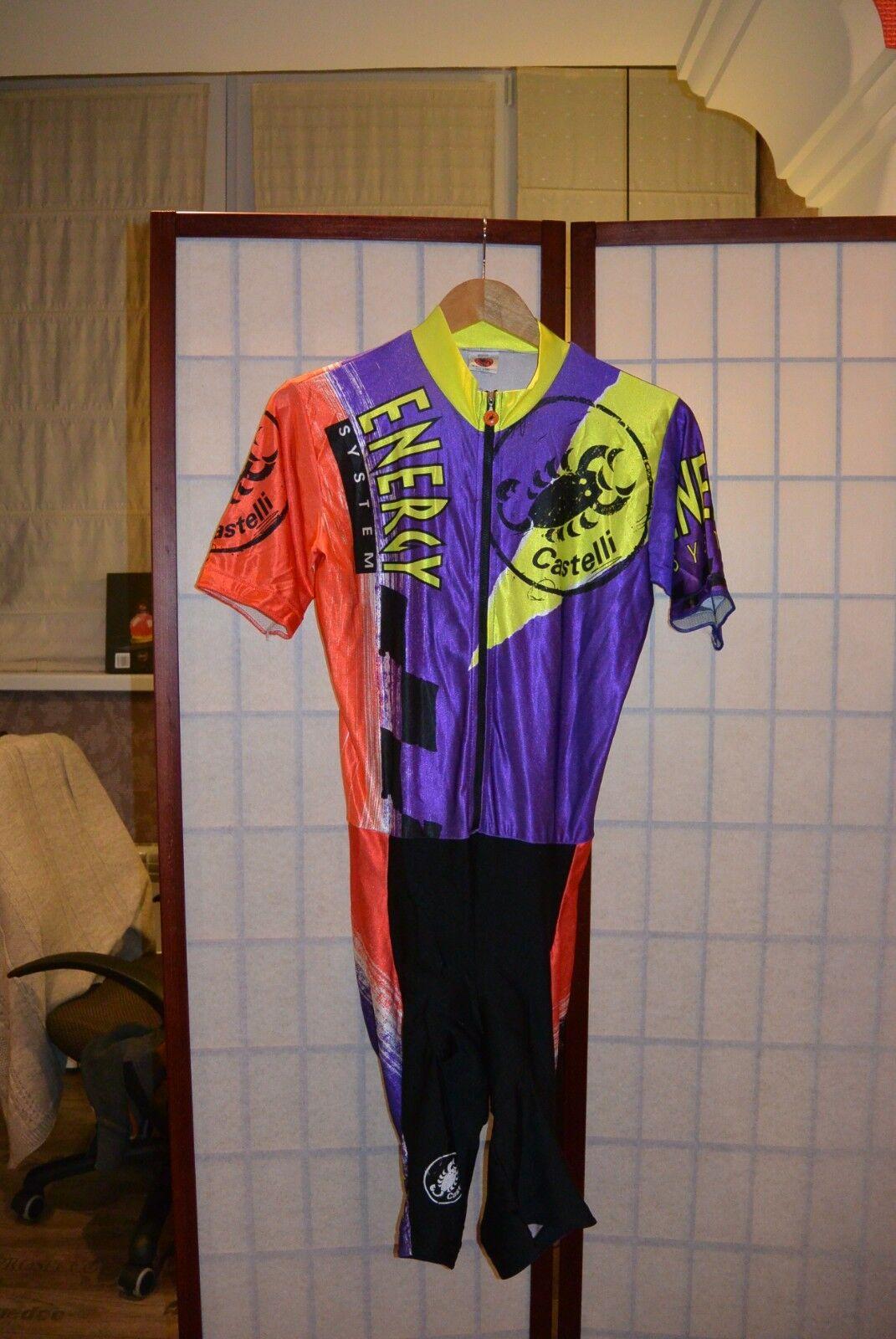 Traje para ciclismo de ciclismo Energy  sistema Vintage Castelli, Traje, roadsuit, L  perfecto