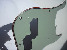 1964 Celluloid Fender Precision pickguard Mint green Nitrate 60 59 60 62 63 65