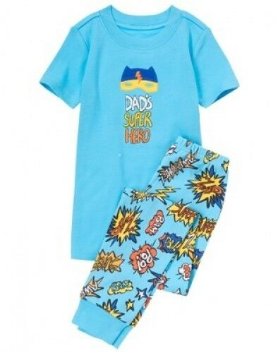 NWT Gymboree Short Sleeve Top and Pants 2-pc Pajamas Set