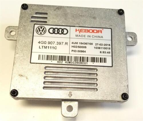 Xenon Steuergerät Vorschaltgerät AUDI A6 C7 A3 Q3 Q5 A1 4G0907397R Original