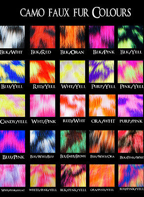 scrap fabric neon prints uv faux fur fluff fishnet pattern lycra lace collage