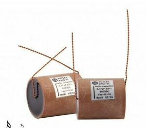 2-pcs-KPCU01H410J-Miflex-0-1uF-100nF-600VDC-5-24x50mm-Copper-Foil-Paper