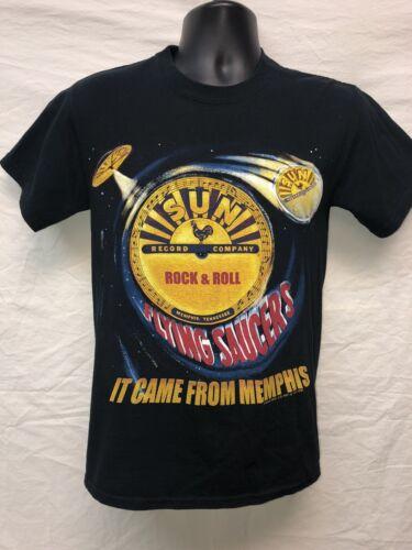 Legendary Sun Studio Records Flying Saucer S Shirt