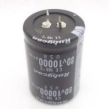 1PC AUDIO Electrolytic Capacitor PANASONIC 105 drgee 35*50mm 10000UF 80V Z