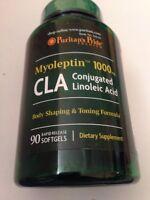 Cla 1000 Mg Super Strength Myo-leptin™ 90 Softgel Weight Loss Diet Pill Fat Burn