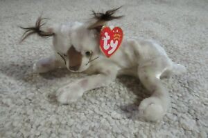 TY BEANIE BABY ~ TRACKS ~ DOB: OCTOBER 5, 2001 ~ MINT W/TAGS