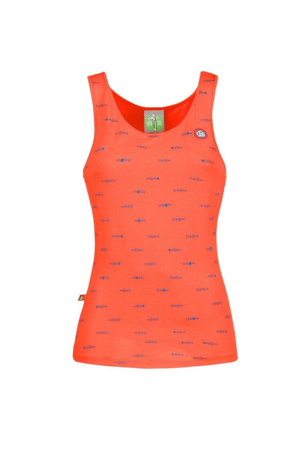 E9 Ariel Ligero Camiseta con Tirantes para Camiseta Musculosa  de Mujer Rojo  perfecto