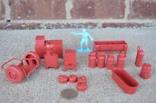 Marx Dairy Farm Playset Accessories 1/32 54MM Toy Set