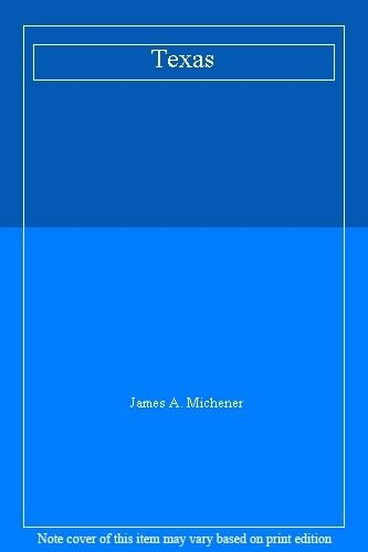 Texas,James A. Michener- 9780552130806