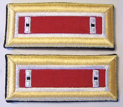 SHOULDER BOARDS STRAPS AVIATION CORPS WARRANT OFFICER 1 WO1 PAIR MALE