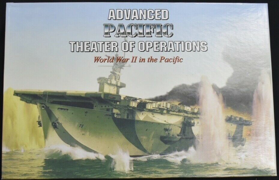 Advanced Pacific  Theater of Operations Board Game Decision Games  juste pour toi