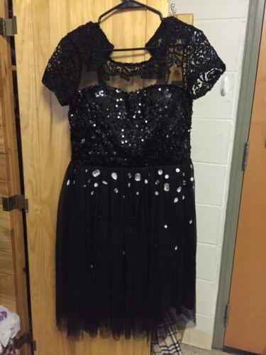 Black Prom Dreas size M