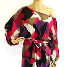 NWT Plus Size L/XL/2X 14 16 18 NEW Off/One-Shoulder Elbow-Sleeve Maxi Long Dress