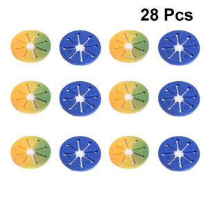 28pcs Plastic Stockings Ring Clip Sock Holders Locks