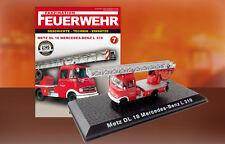 Camion Pompieri METZ DL 18 Mercedes Benz L 319  Feuerwehr Bomberos DIE CAST 1:72