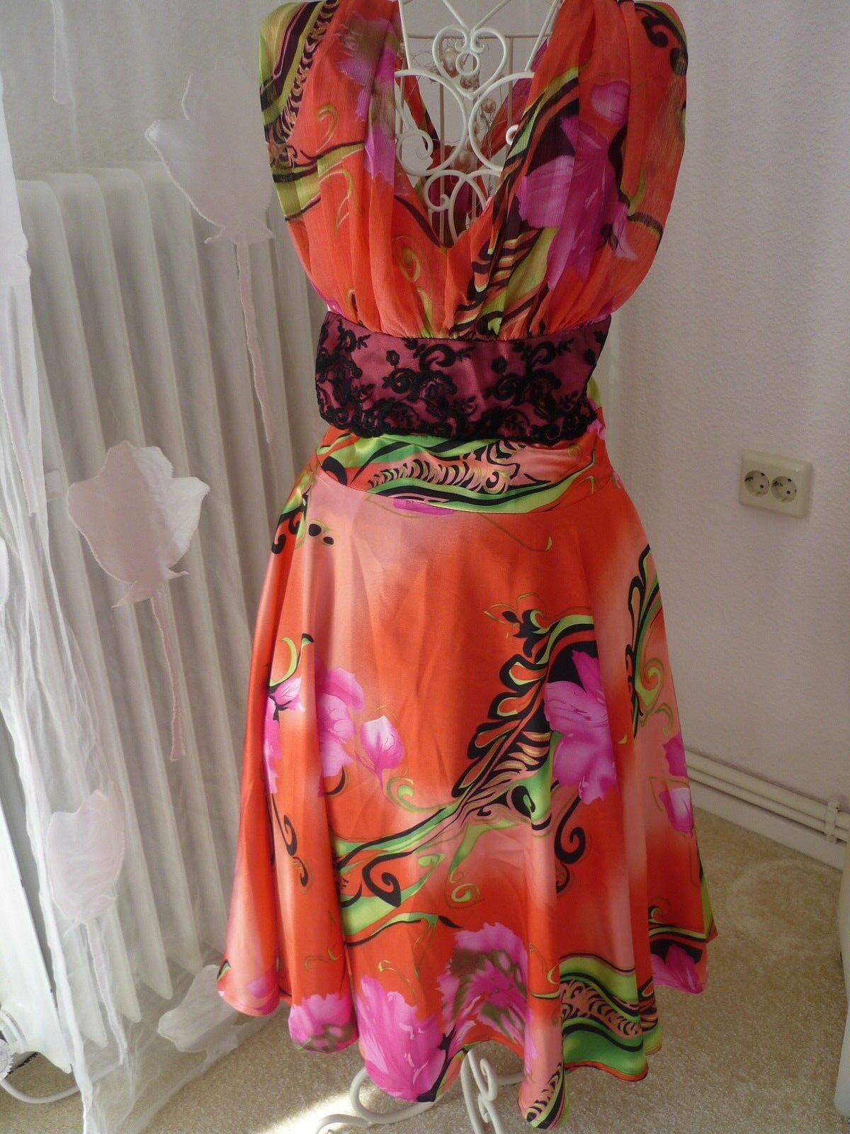 Neu mit Etikett__Neckholder-Kleid Gr. 34 36
