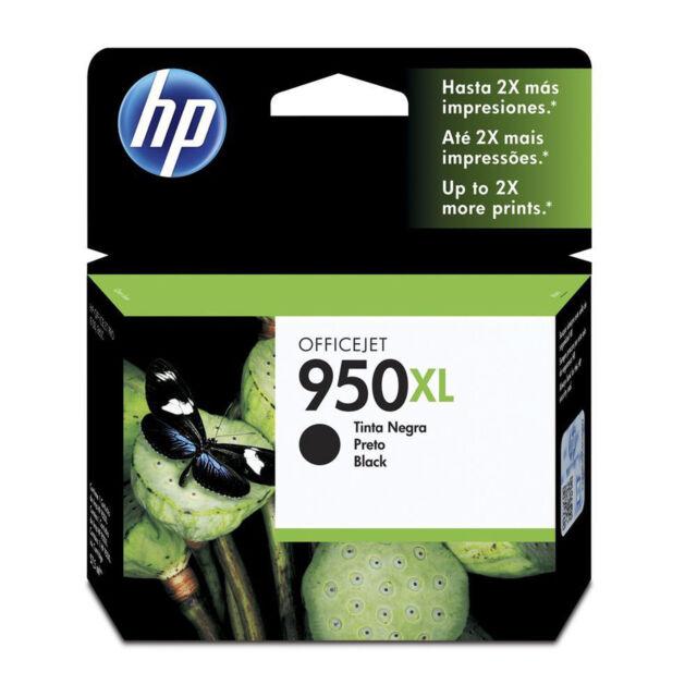 GENUINE Original HP 950XL Black Ink Cartridge OFFICEJET Toner CN045AA
