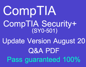 LATEST-EXAM-QUESTION-CompTIA-Security-SY0-501-Real-Exam-Q-amp-A-and-simulator